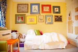 Colorful bedroom - Inside the home of ANDY SPADE AND KATE SPADE in NYC.jpg